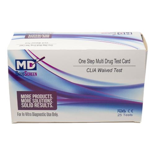 Drug test dip box