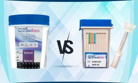 Drug screen vs drug test